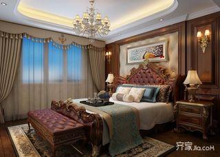 132平米欧式风格卧室每日首存送20