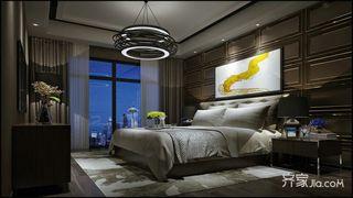 现代简约两居室卧室装修效果图