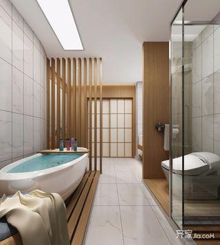 北欧三居室装修卫生间设计