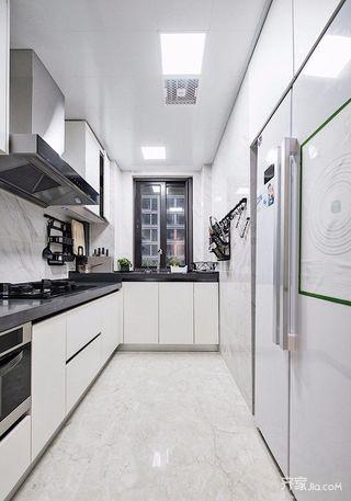 loft别墅装修厨房效果图