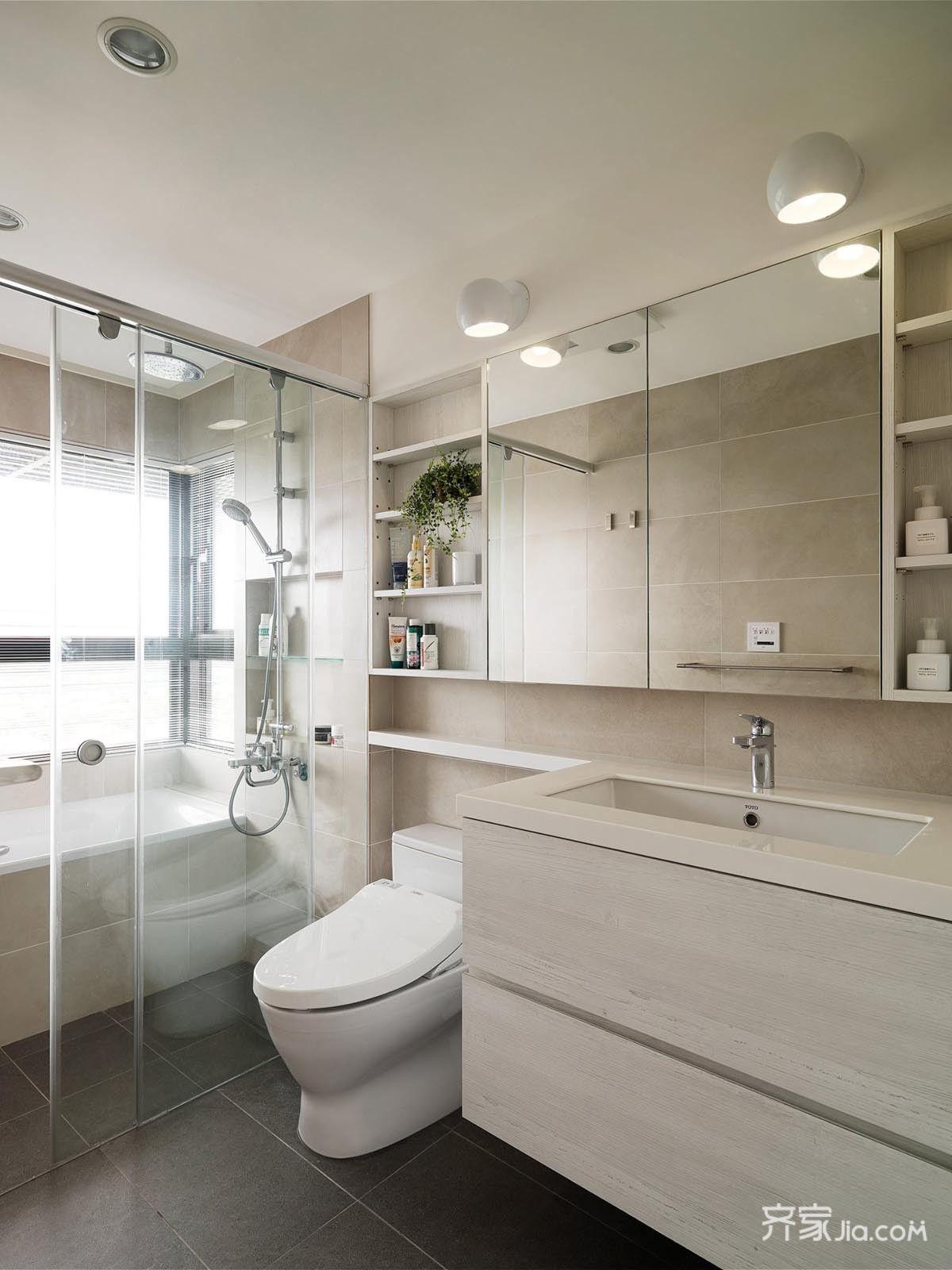 一居室小户型卫生间设计