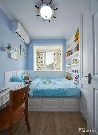 三居室美式风装修儿童房