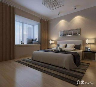 简约140平装修卧室设计图