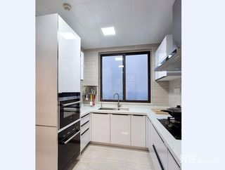 120平现代港式混搭装修厨房设计图