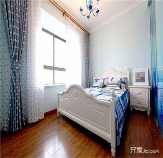 108平地中海风格卧室欣赏图