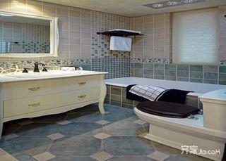 108平地中海风格家卫生间装潢图