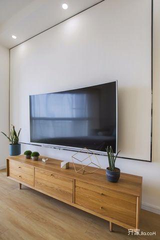 北欧二居室设计电视背景墙