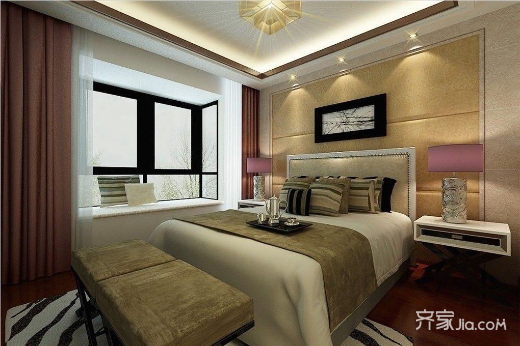 260平复式装修卧室效果图