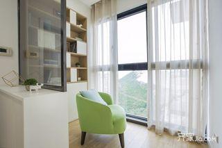 北欧二居室设计阳台