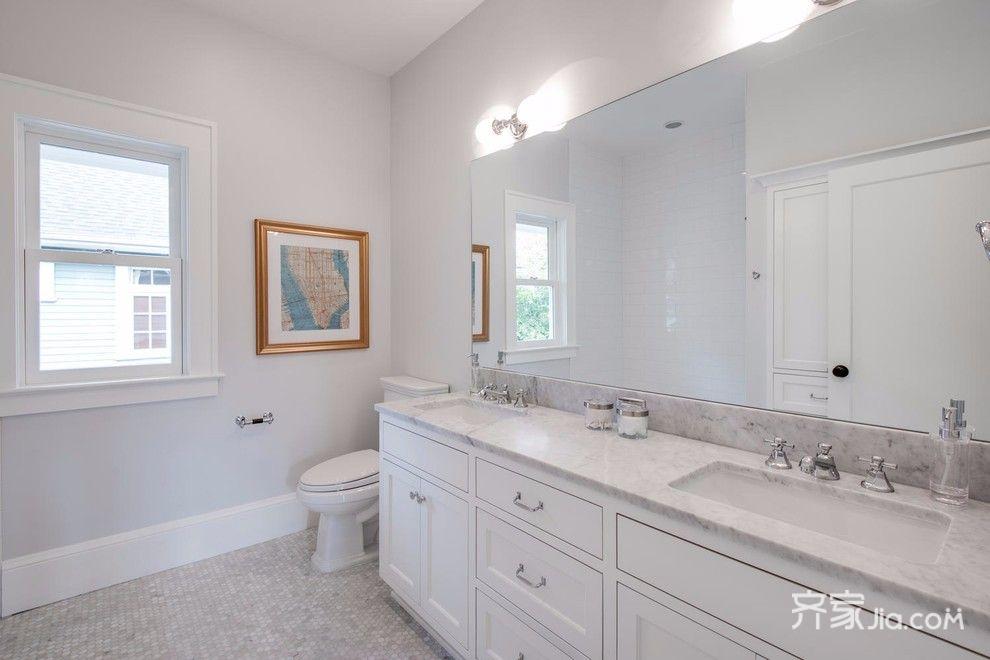 大户型欧式风格设计浴室柜