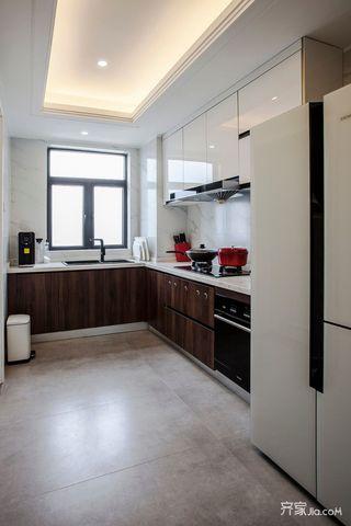 三居室欧式风格家厨房构造图