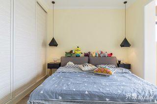 100平米簡約風格裝修兒童房設計圖