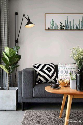 140平简约风格家沙发图片