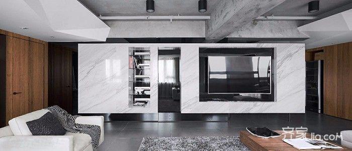 150平简约风格之家客厅装潢图