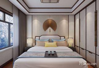 100平中式风格家卧室设计图