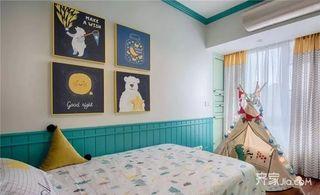 二居室法式混搭装修儿童房