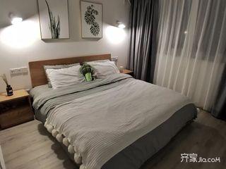 70m²宜家风格装修卧室布置图