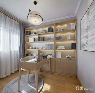 130平宜家风格装修书房布置图