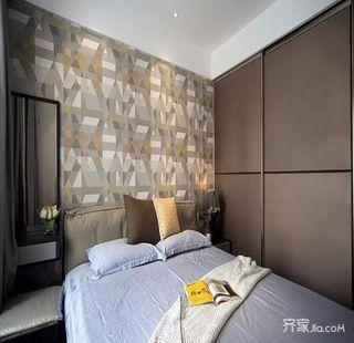 200平米简约风格装修卧室装潢图