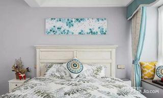 120㎡美式风格三居室装修卧室设计图