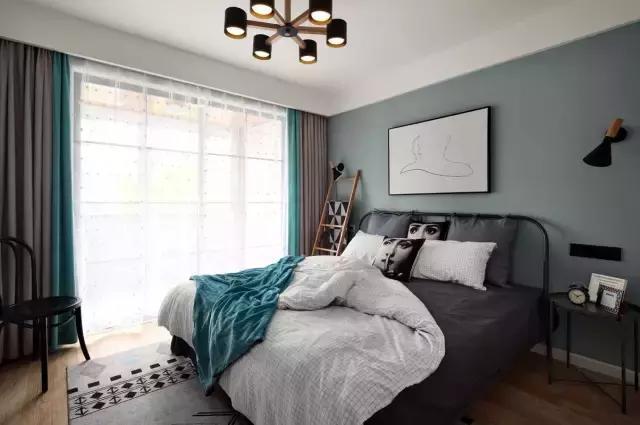 小夫妻花11W装修98�O北欧新房,没有花里胡哨的装饰,看着就舒服