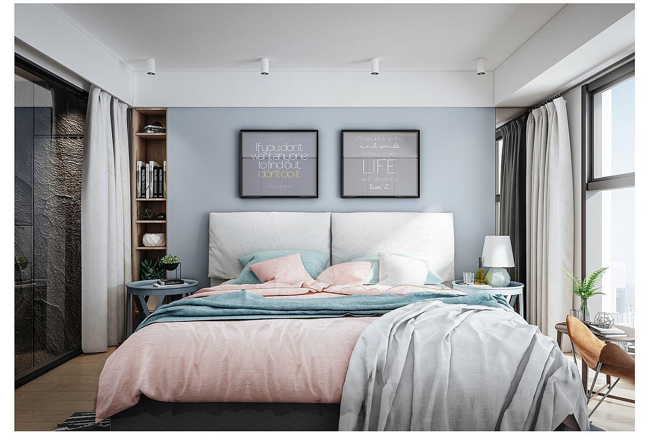 舒适卧室搭配指南:想要睡眠好,卧室环境很重要