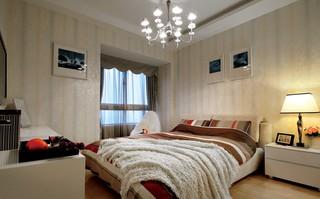 110㎡现代风格卧室装修效果图