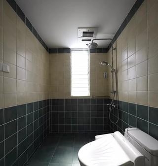 混搭风格三居室淋浴房装修设计图