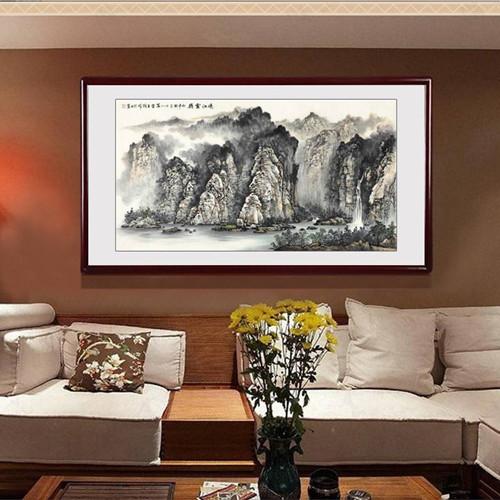 客廳掛畫知道松木家具的優缺點
