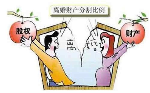 离婚案中的财产分割原则  离婚诉讼时夫妻财产怎么分割