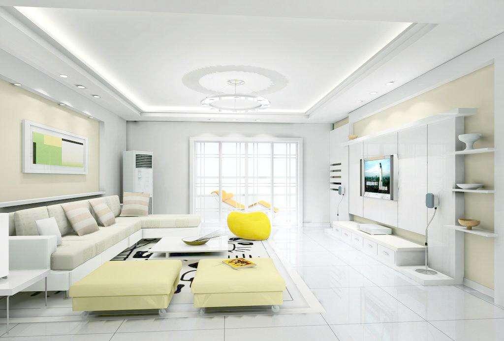 三居室客厅装修 六个细节助你打造完美客厅
