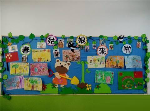 大班教室特色墙面布置效果图 要注意哪些问题
