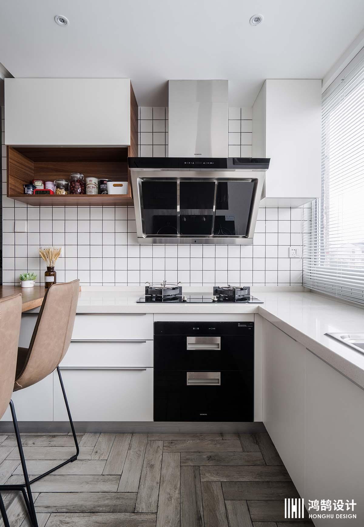 100㎡北欧风格家橱柜图片