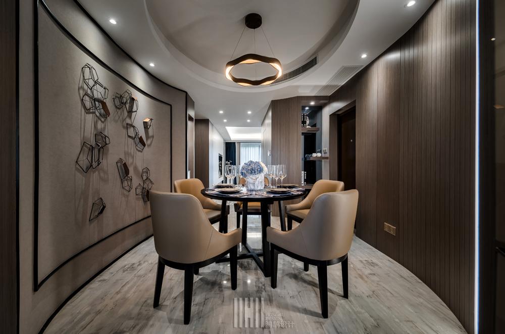 港式风格两居装修餐厅效果图