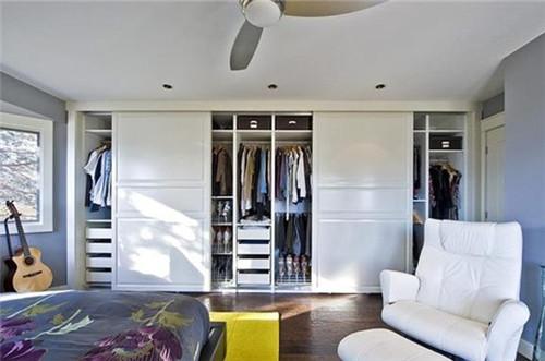 宜家衣柜图片欣赏 不只是颜值让你心动的衣柜