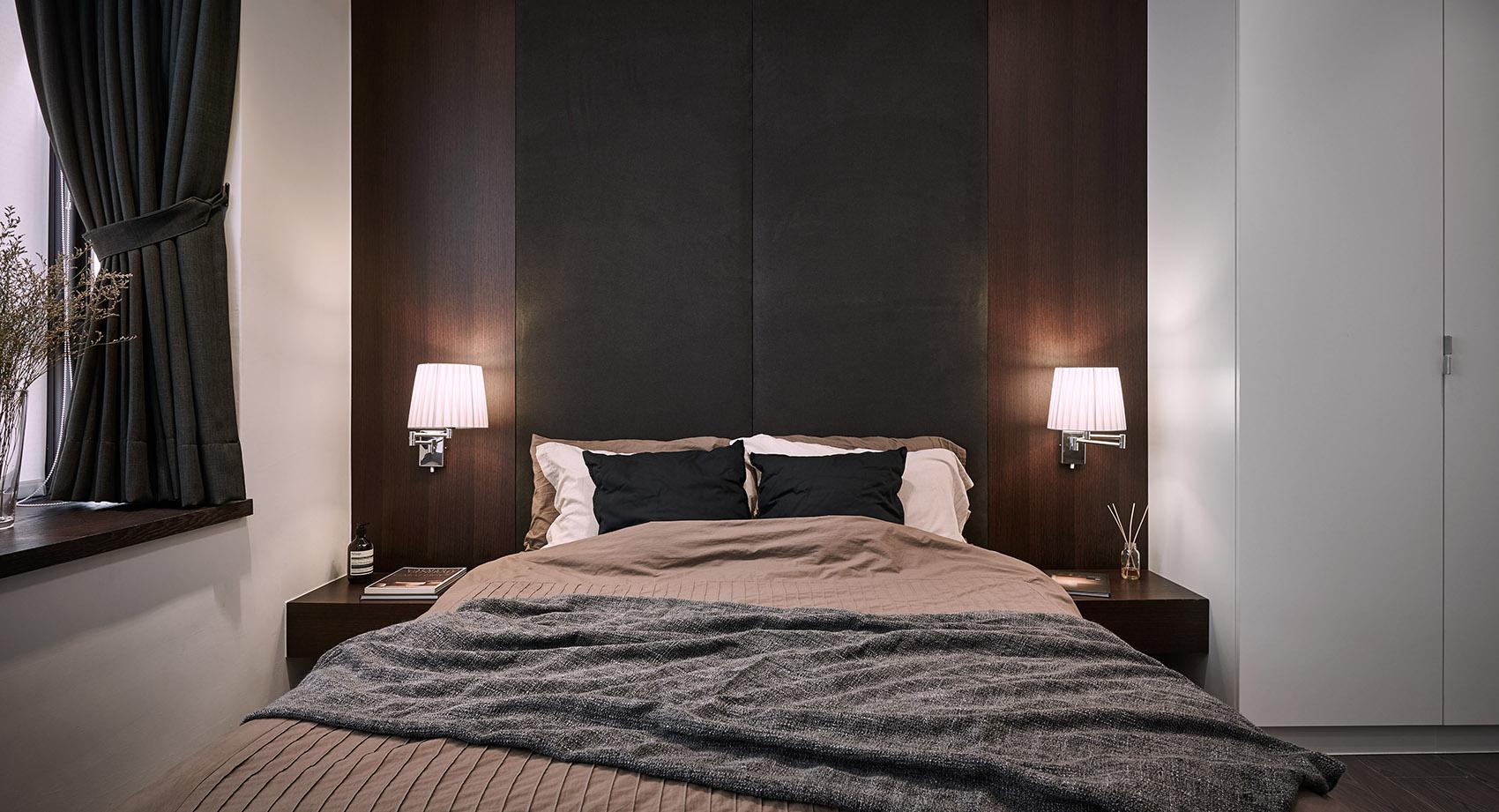 122平现代时尚简约风卧室装修效果图