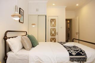 北欧简约三居室公寓装修衣柜设计图