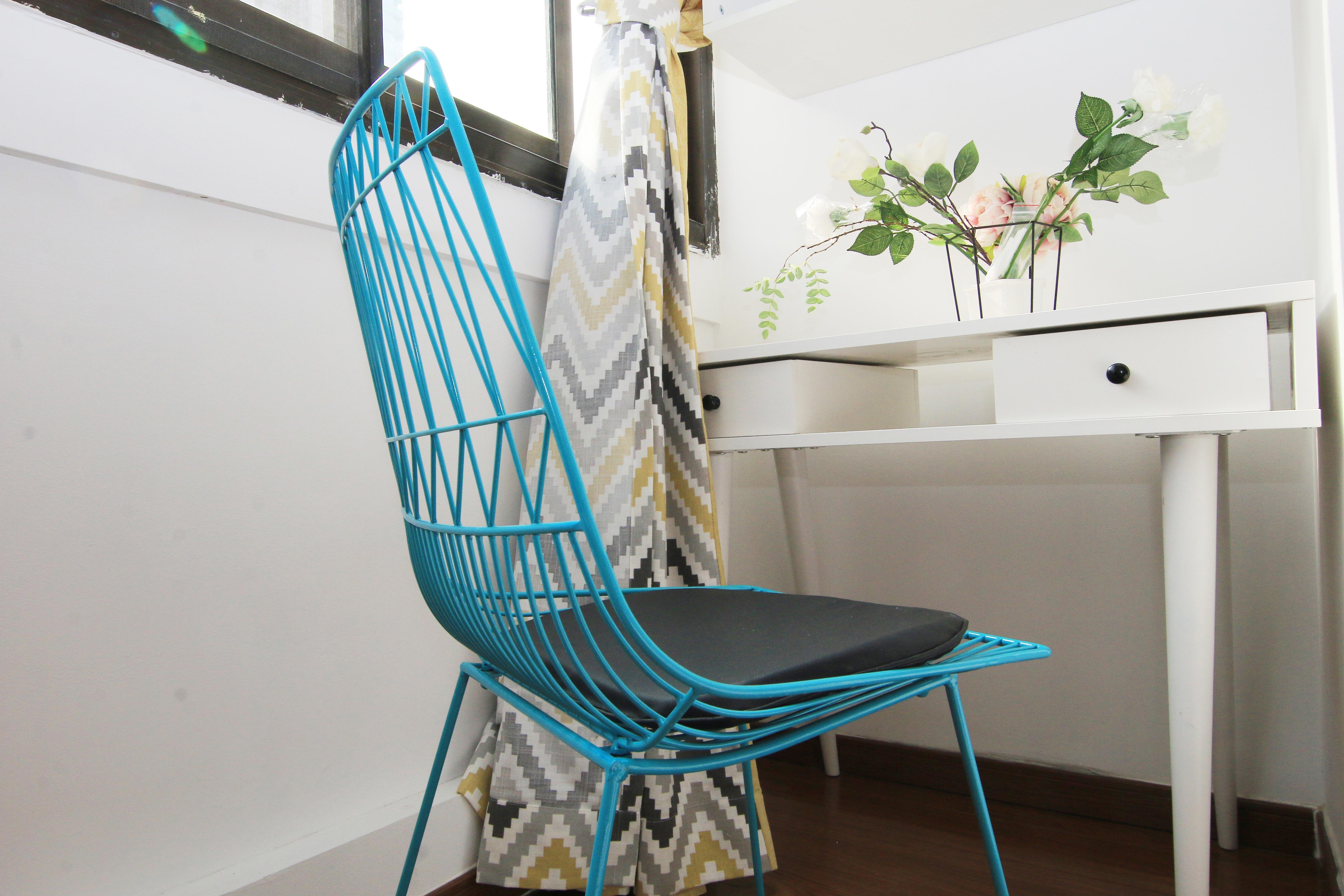 小户型北欧简约风格装修桌椅设计图片