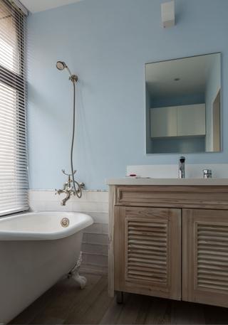 140平Loft工业风装修浴室柜设计图