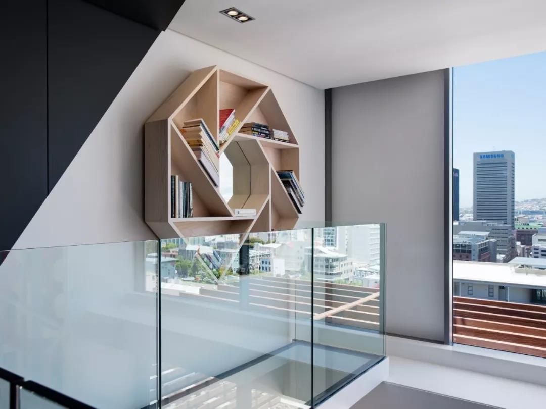 Loft风格公寓装修书架设计图
