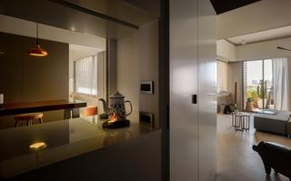 168平米现代风格装修玄关设计图