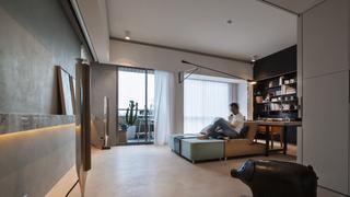 168平米现代风格装修客厅吊顶效果图