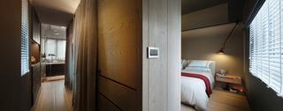 168平米现代风格装修卧室一角