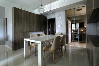 现代风三居之家 灰色时尚空间