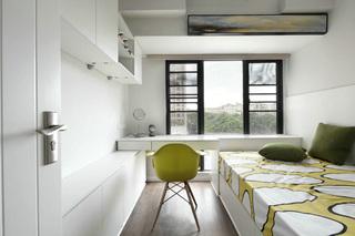现代风三居之家榻榻米卧室设计图