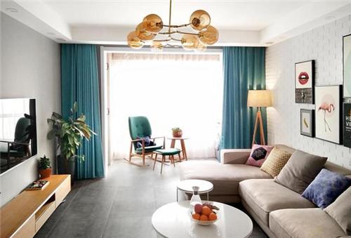 三室两厅的装修案例 90平北欧风新房欣赏