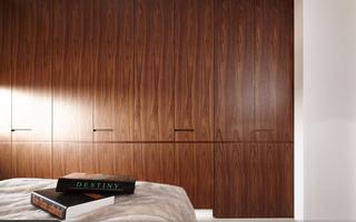 115平现代风三居装修衣柜设计图