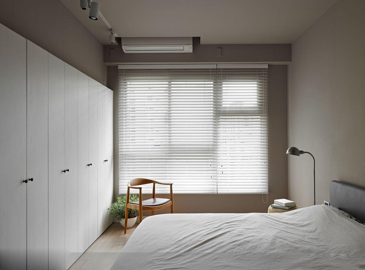简约北欧风格三居装修卧室搭配图