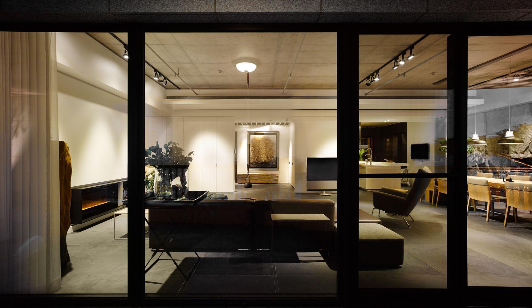 大户型台式风格装修客厅全景图
