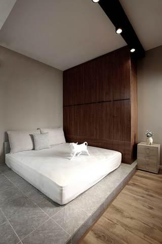 85平北欧风格两居卧室装修效果图